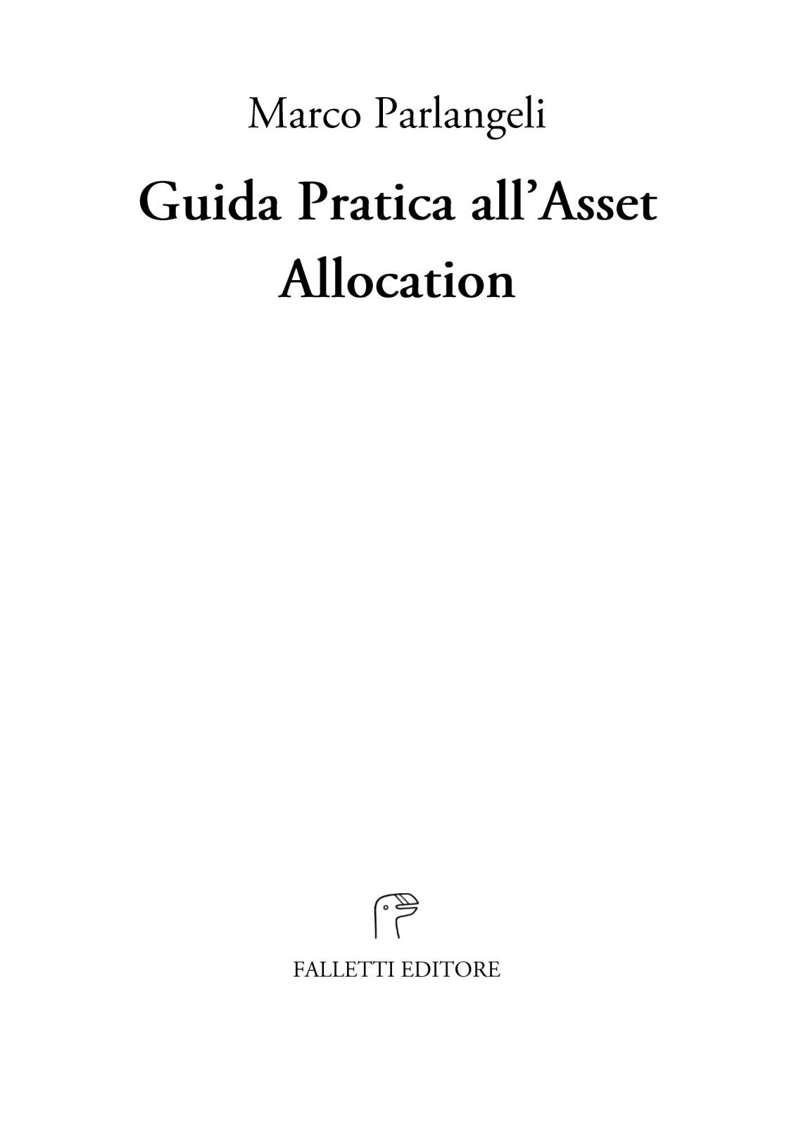Guida Pratica all'Asset Allocation